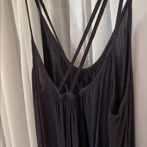Elan Dresses - Black Gauzey Dress/Pool Coverup